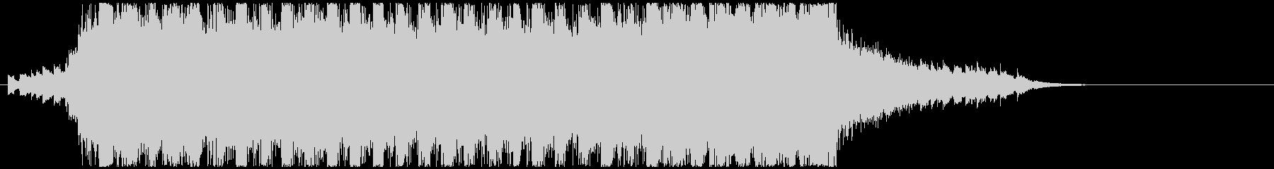 ジングル - オーロラアドベンチャーの未再生の波形