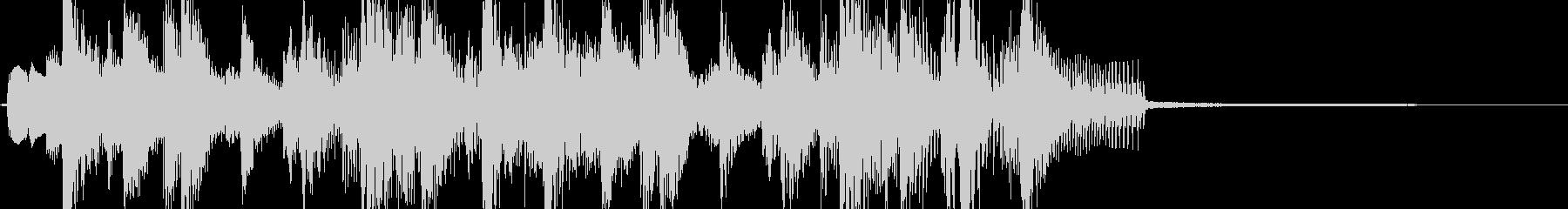 ファンキー・イカす琴の和風ジングル Aの未再生の波形