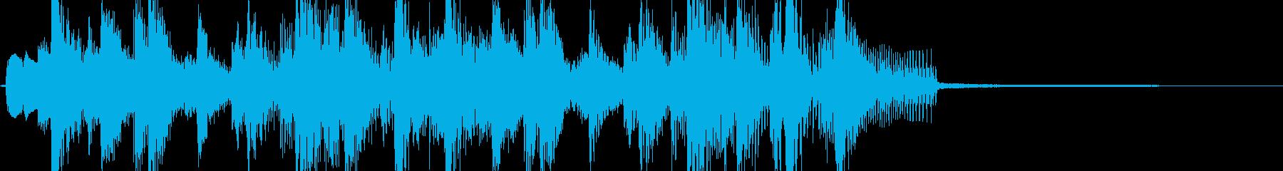 ファンキー・イカす琴の和風ジングル Aの再生済みの波形