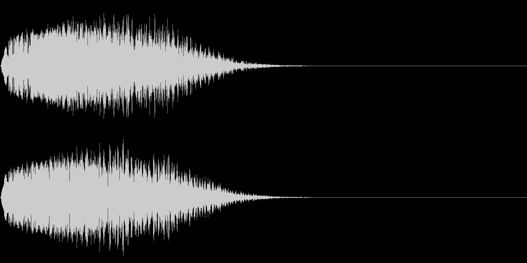 昔SFでモニターに映像がうつる時、鳴る音の未再生の波形