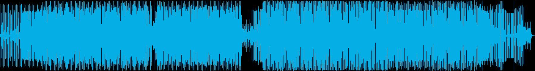 トライバルハウス、テック&ミニマルの再生済みの波形
