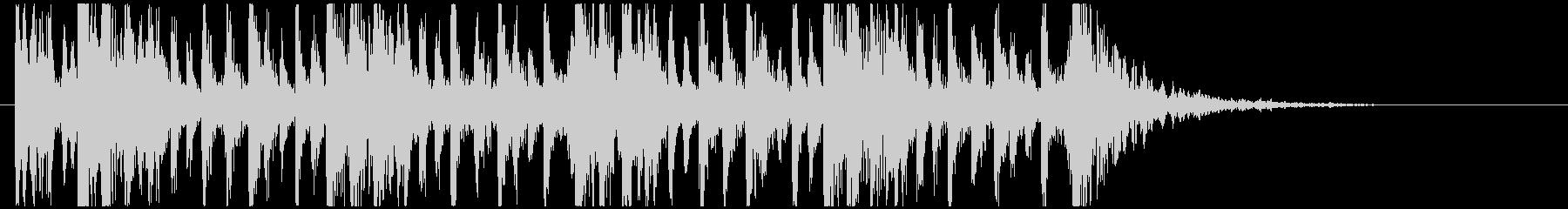 和太鼓のフレーズ1。残響なしBPM120の未再生の波形