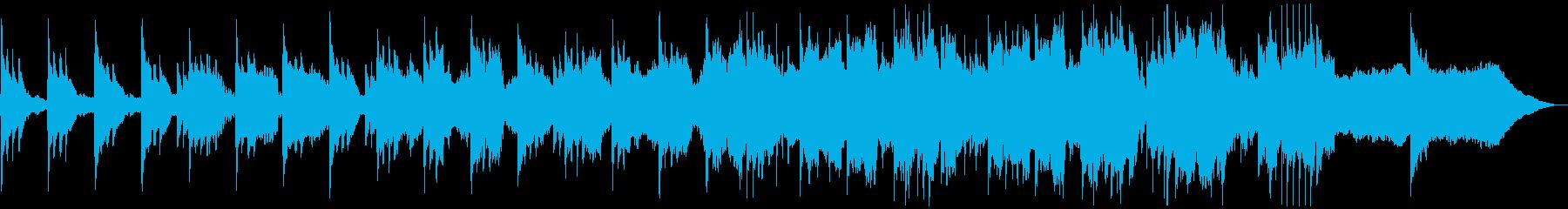 センチメンタルなストリングとピアノの再生済みの波形