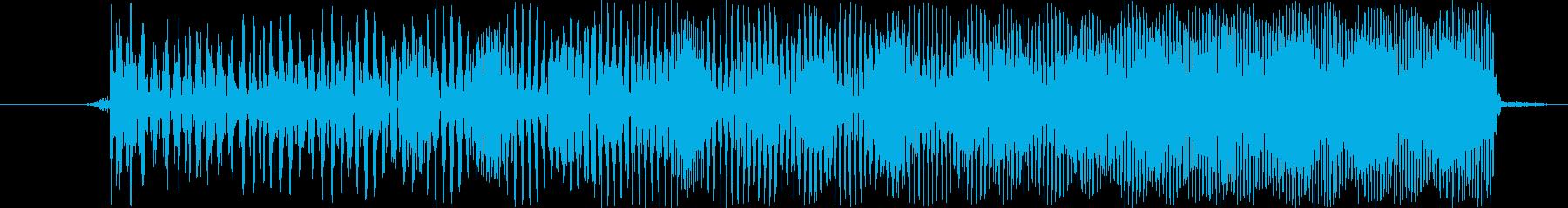 【ビー/ピュー/ビーム/サイバー武器】の再生済みの波形