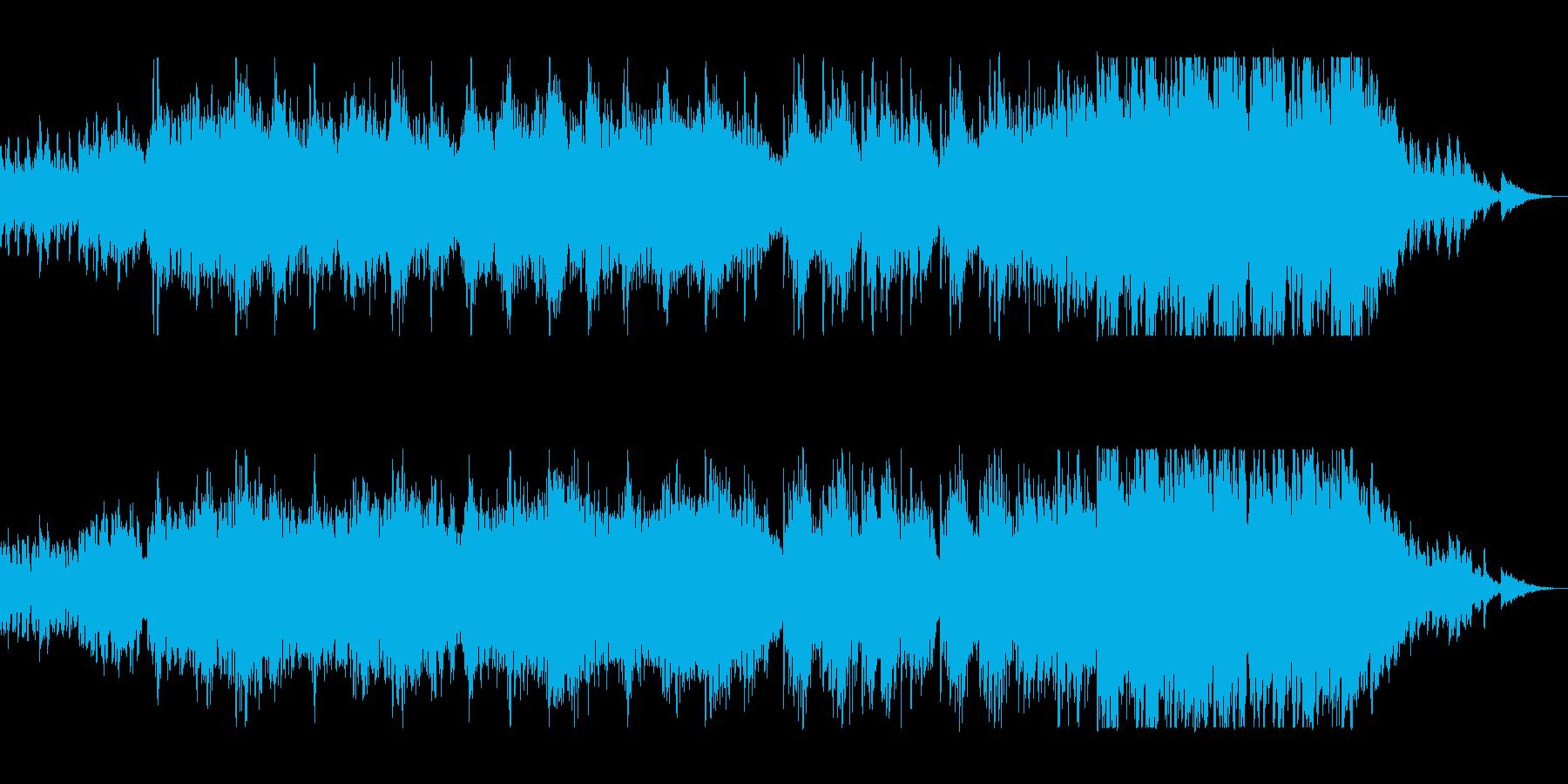 切ないピアノのメロディーが印象的の再生済みの波形