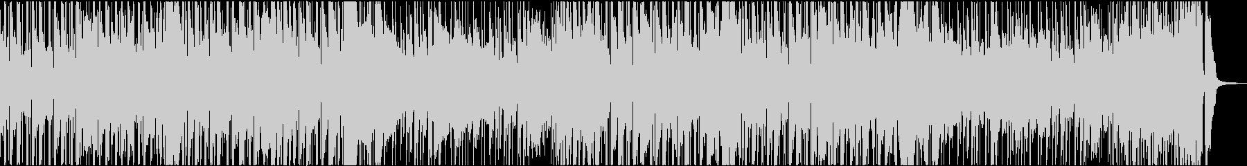 ピアノx民族楽器 お洒落なラテンファンクの未再生の波形