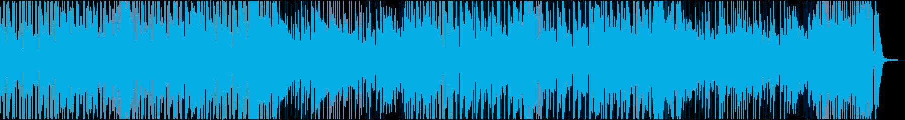 ピアノx民族楽器 お洒落なラテンファンクの再生済みの波形