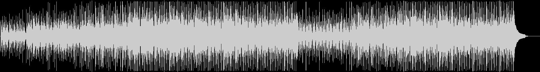 ピアノとウクレレがメインのハッピーな曲の未再生の波形