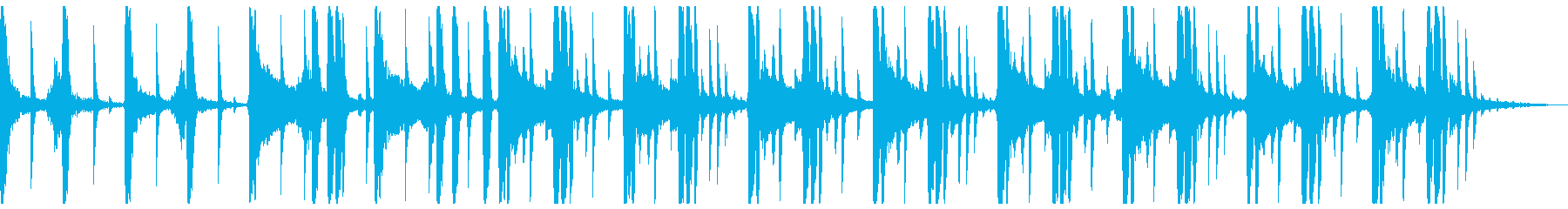 幻想的でソウルフルなビートの再生済みの波形
