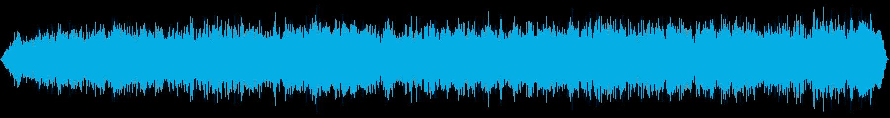 ディープパワフルランブリング嵐と自然災害の再生済みの波形