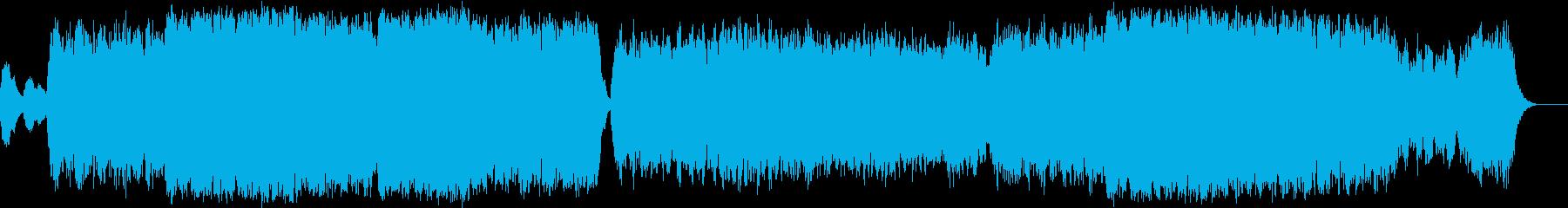ピアノが印象的でミサ曲のようなバラードの再生済みの波形