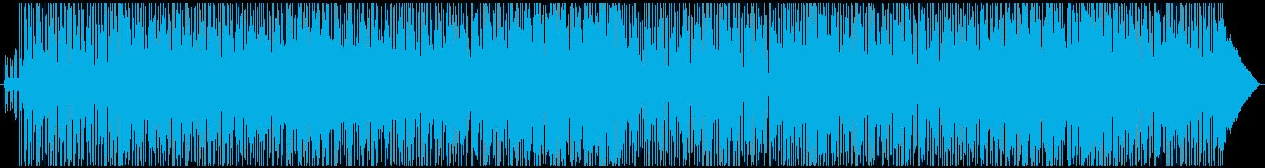 ノリの良い伸びやかなオリジナルインスト曲の再生済みの波形