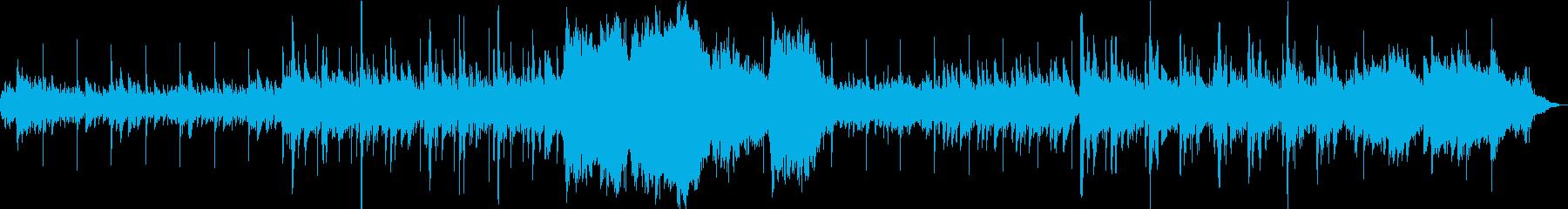冬/クリスマス/キラキラオーケストラ曲の再生済みの波形