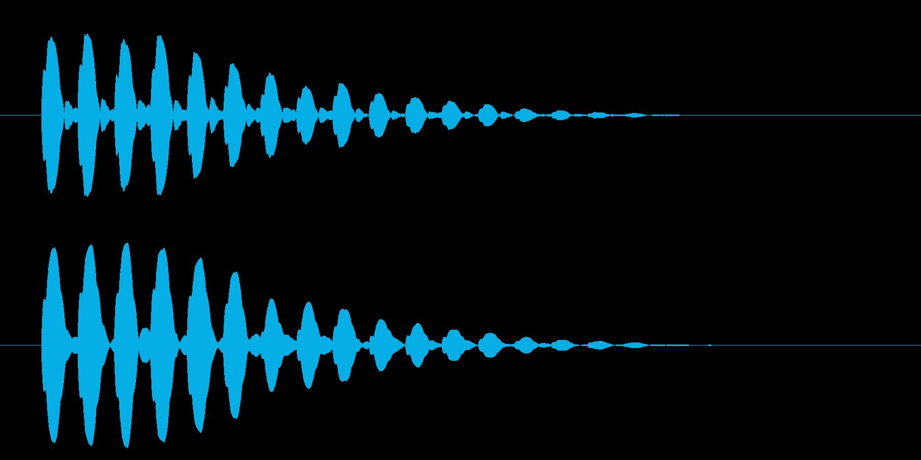 横断歩道 誘導音03-6の再生済みの波形
