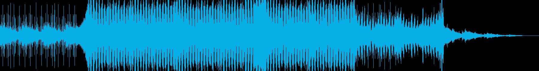 シンプルなLo-Fi Houseの再生済みの波形