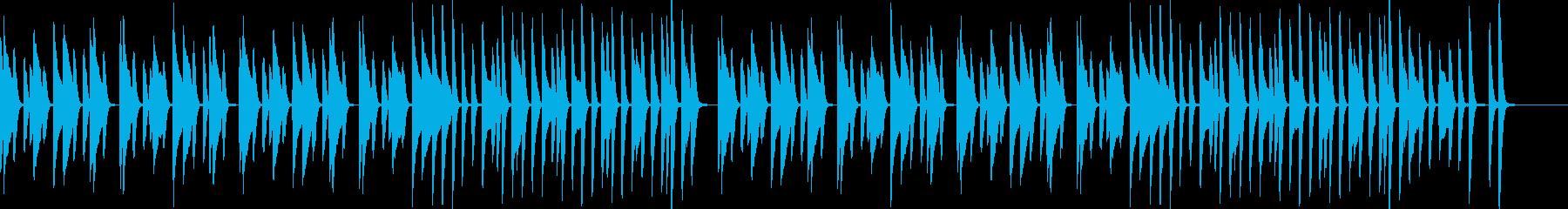 生活・暮らし・日常 ピアノ曲の再生済みの波形