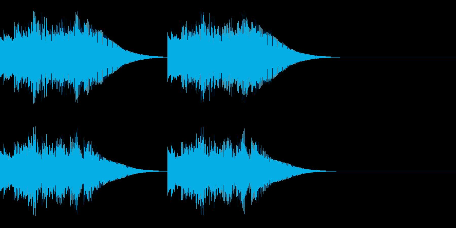 テロリロレララン×2 お知らせ 速報 の再生済みの波形