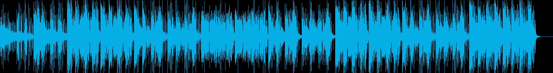 子供向けキュートなチップミュージックの再生済みの波形