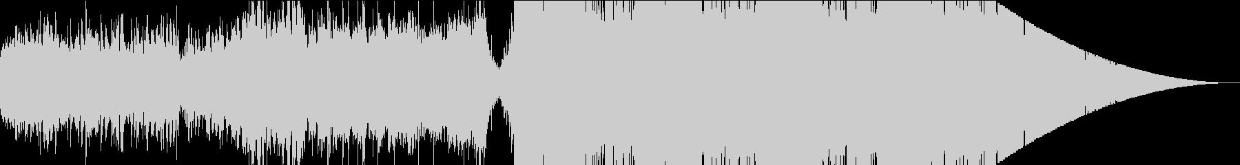 クラシカルなジングル風BGMの未再生の波形