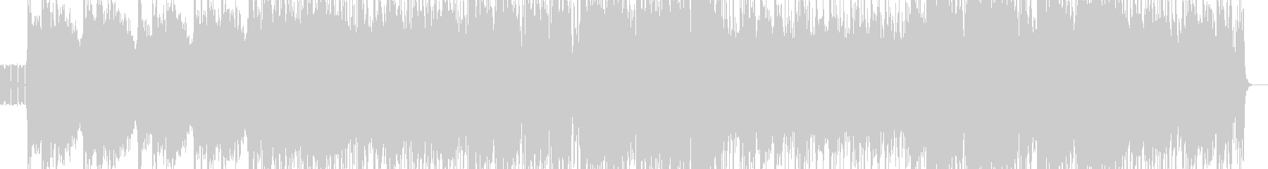 尺八/エレクトロ/和風/四つ打ち/三味線の未再生の波形