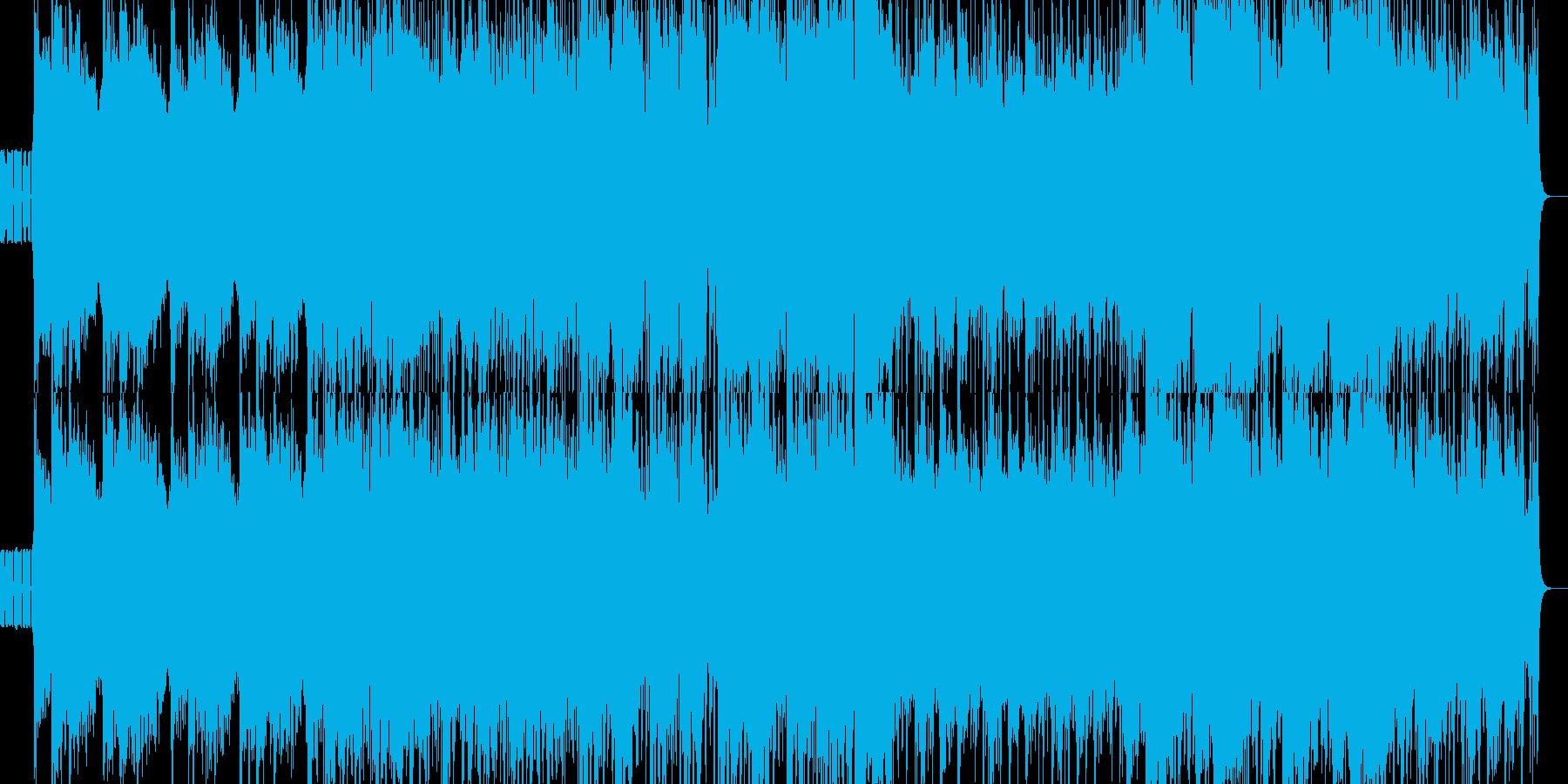 尺八/エレクトロ/和風/四つ打ち/三味線の再生済みの波形