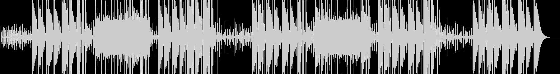 ロックフレーズのヒップホップビートの未再生の波形