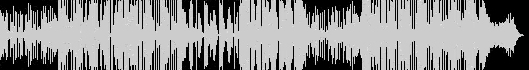 情熱的なフューチャーポップの未再生の波形