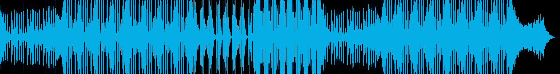 情熱的なフューチャーポップの再生済みの波形