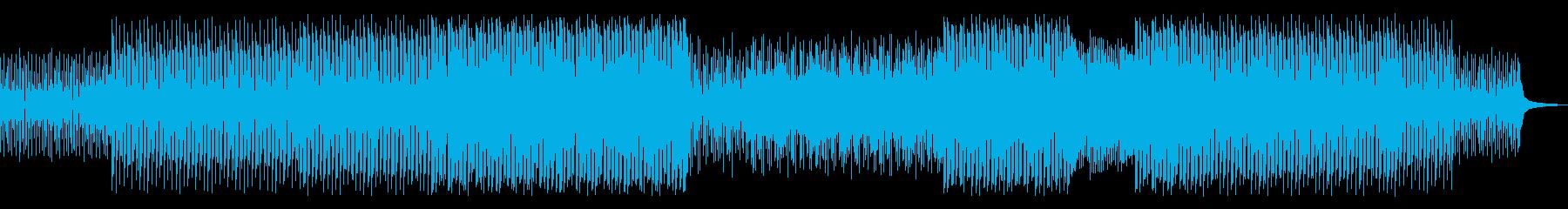 レトロな雰囲気も感じるファンクトラックの再生済みの波形
