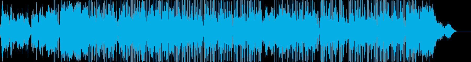 エレクトロニック 静か 楽しげ や...の再生済みの波形