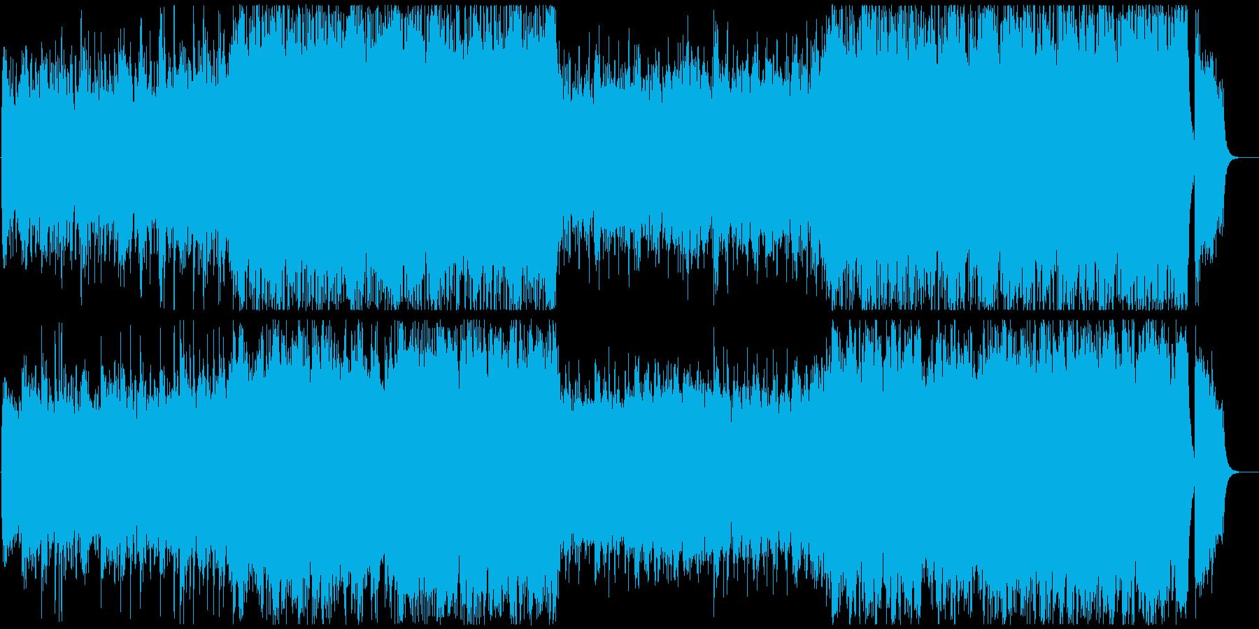 壮大な幕開けepicオーケストラの再生済みの波形