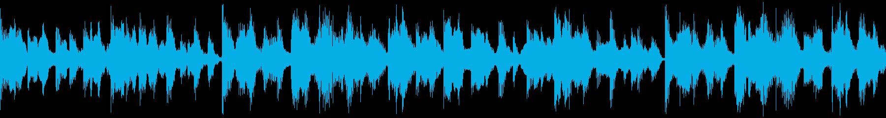 コンビニカード生活に根差した商品用BGMの再生済みの波形