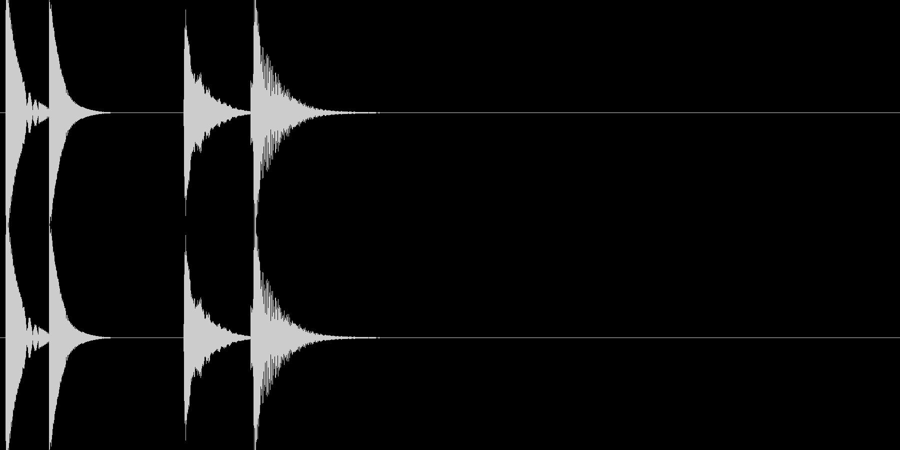 KANTペコパコンアイキャッチの未再生の波形