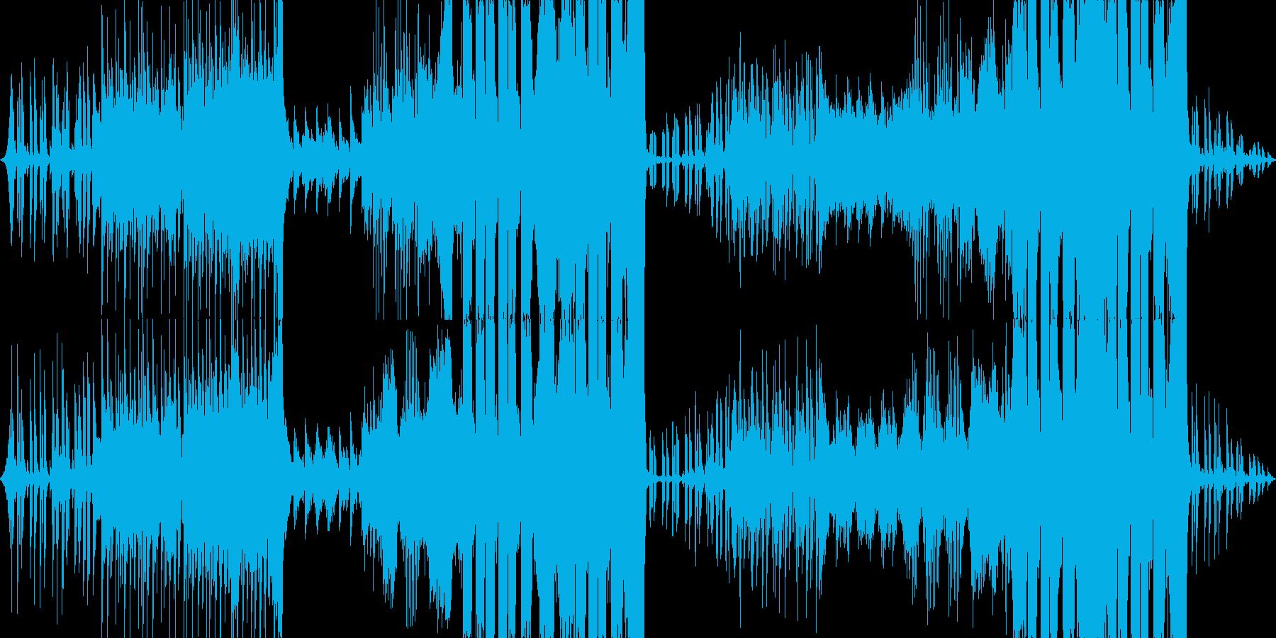 可愛さ全開Future Bassの再生済みの波形