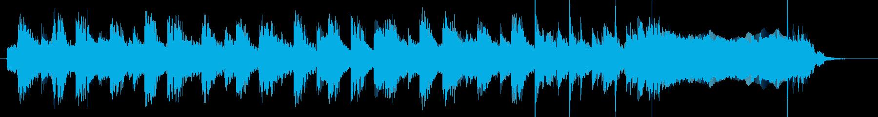 ほのぼのとしたOPの再生済みの波形