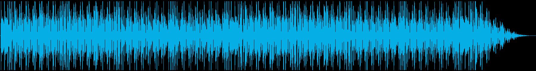 やる気のないクシコスポストの再生済みの波形