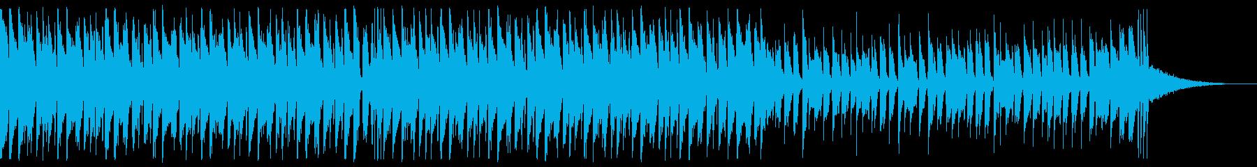 爽やかなEDM_5の再生済みの波形