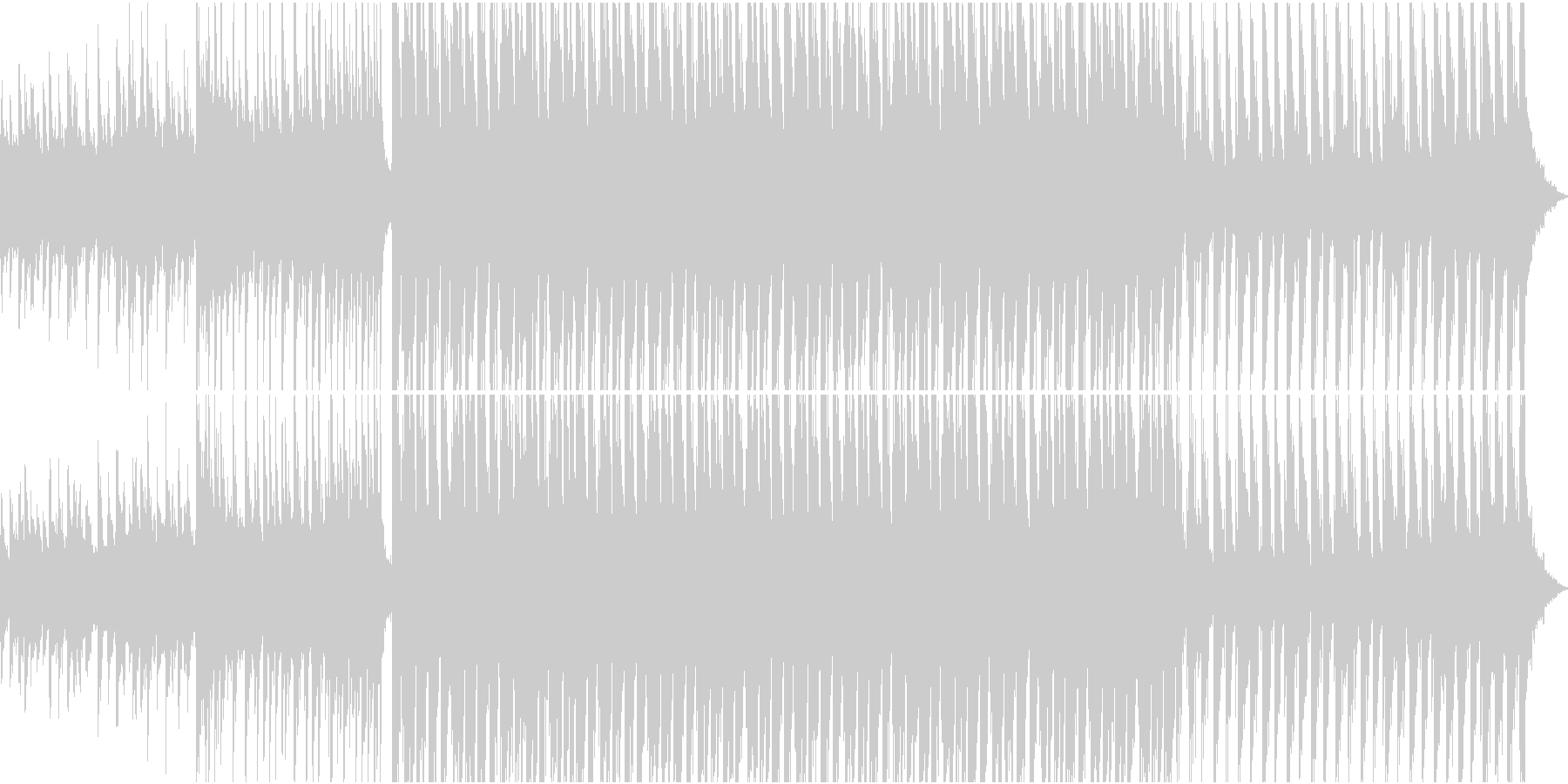 明るくファンキーなエレクトロダンス...の未再生の波形