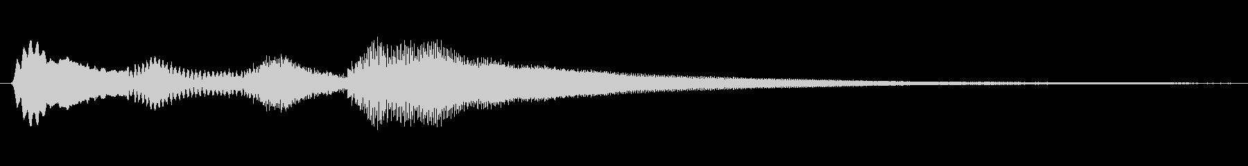 サウンドロゴやゲーム・映像・CMなどの未再生の波形