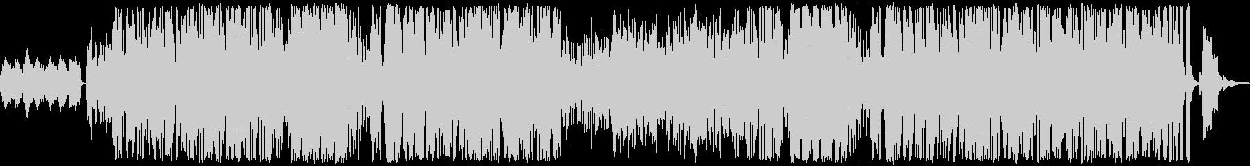 ジャズサンバ+ポップスの未再生の波形