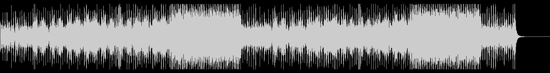 太鼓とシンセを使った和風戦闘系BGMの未再生の波形