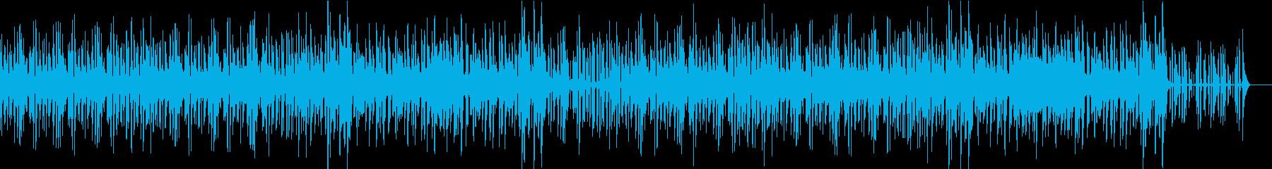 リズミカルで明るいジャズの再生済みの波形