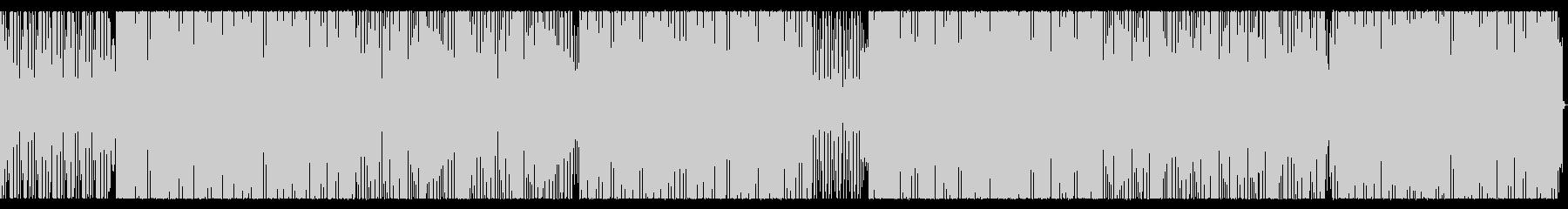 ハードなヒップホップ_No443の未再生の波形