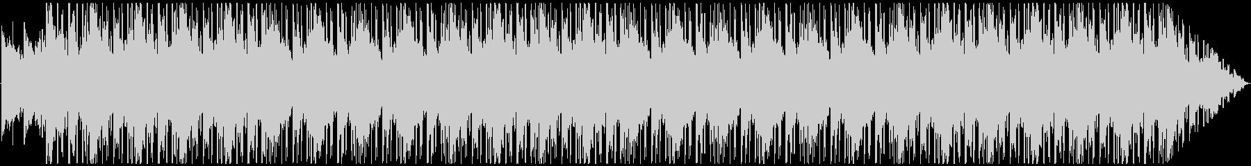 エレクトリックピアノで夜をイメージしたの未再生の波形