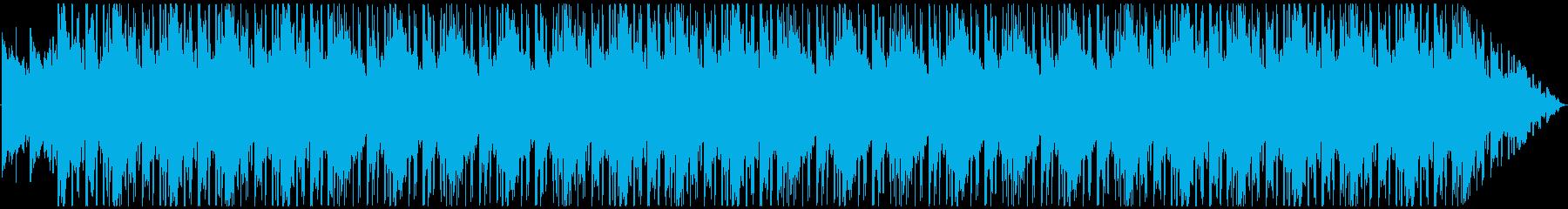 エレクトリックピアノで夜をイメージしたの再生済みの波形
