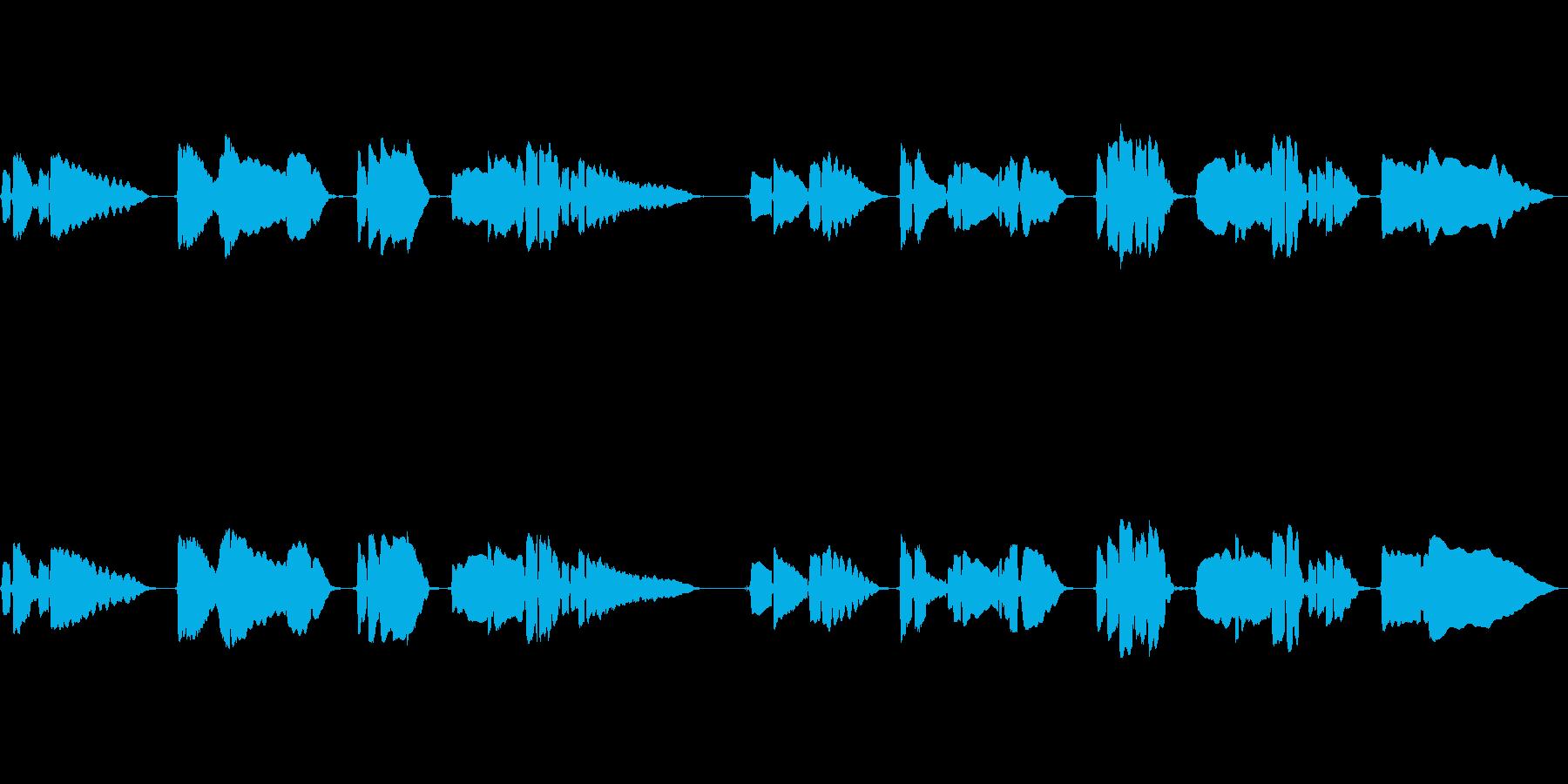 サックス音が胸に刺さる曲の再生済みの波形