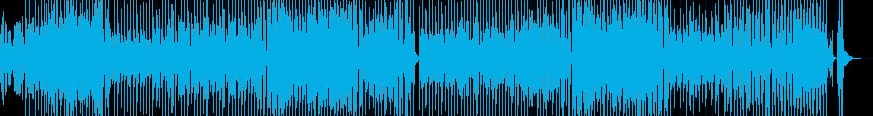 トランペット・まったりテクノ&マーチの再生済みの波形