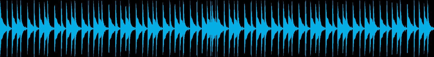 ジャンベ|リズム・ループ 1の再生済みの波形