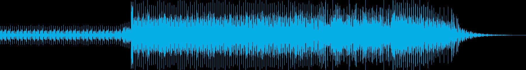 今風の明るい感じのEDMの再生済みの波形