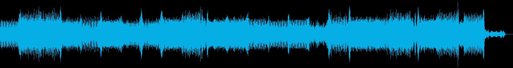 センチメンタルなUKハードコアの再生済みの波形